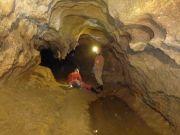 La galerie de la grotte du Vertige