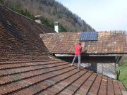Remplacement de tuiles sur le toit
