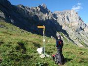 Au pied de Forcla, l'accès depuis Chamozentsé
