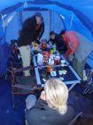 Organisation dans la tente