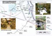 Plan des sources des Blanches-Fontaines