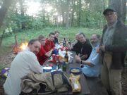 Les Charbonnières: Repas festif