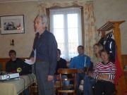 Mont-Repais: Le Dr. Bouvier en conférance
