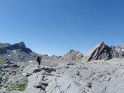 Zone des Crêtes, Tita Naire et Forcle en arrière plan