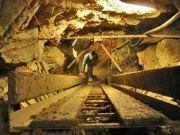Rampe d'accès au puits de l'Entonoir